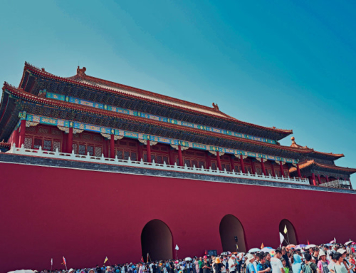 Strolling through the Forbidden City