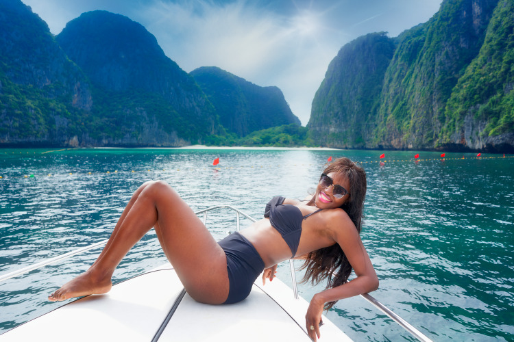 """Magical Maya Bay from the Movie """"The Beach"""""""