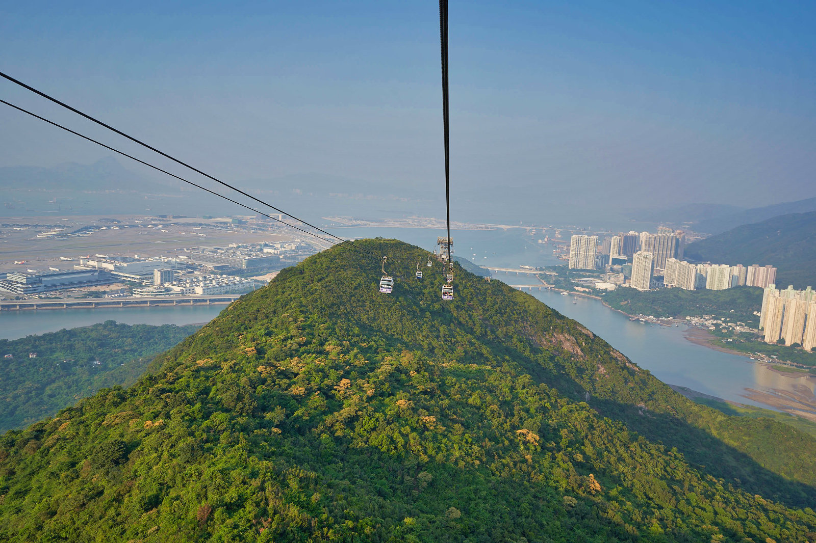 Amazing Ngong Ping 360 Cable Car