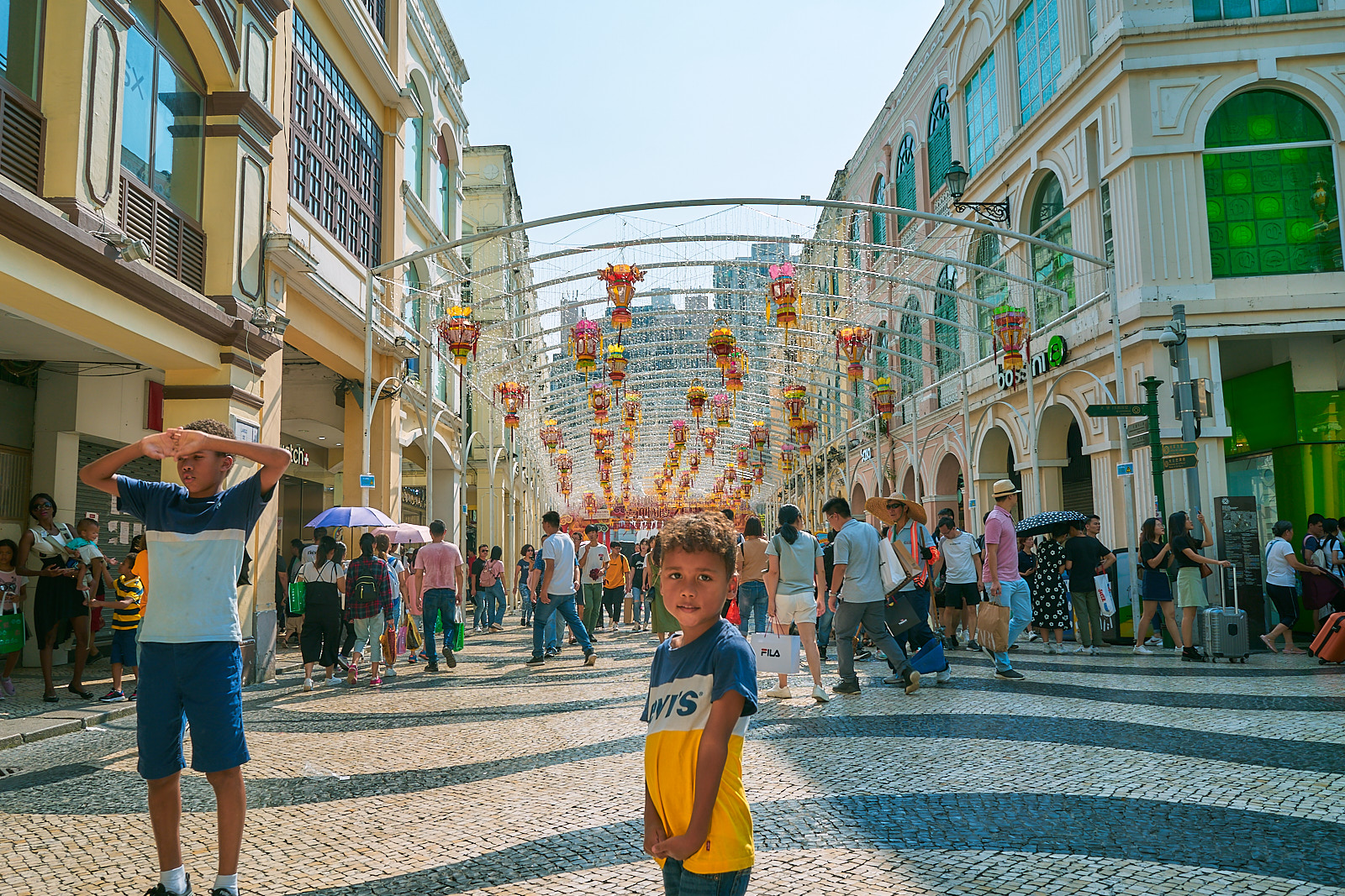 Romantic City Center of Macau